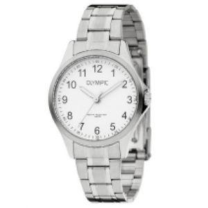 Olympic OL72DSS085 Baltimore Horloge - Staal - Zilverkleurig - 29mm