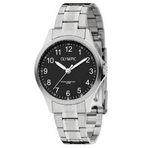 Olympic OL72DSS086 Baltimore Horloge - Staal - Zilverkleurig - 29mm
