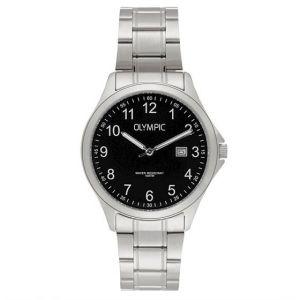 Olympic OL72HSS238 Baltimore Horloge - Staal - Zilverkleurig - 40mm
