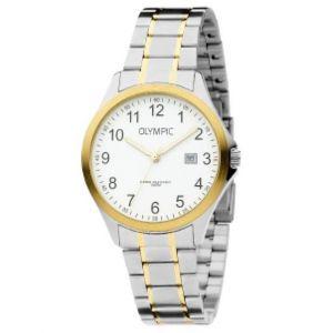 Olympic OL72HSS241B Baltimore Horloge - Staal - Bicolor - 40mm