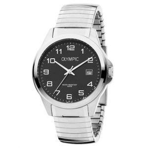 Olympic OL72HSS263 Phoenix Horloge - Staal - Zilverkleurig - 38mm