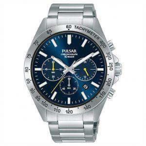 Pulsar PT3A73X1 horloge chronograaf en tachymeter 43mm