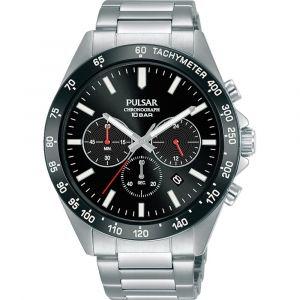 Pulsar PT3A77X1 horloge chronograaf en tachymeter 43mm