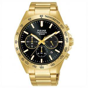 Pulsar PT3A78X1 horloge chronograaf en tachymeter 43mm