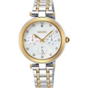 Seiko Quartz SKY660P1 Classic horloge