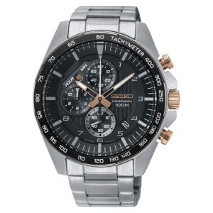 Seiko Chronograaf Tachymeter horloge SSB323P1 - 44mm