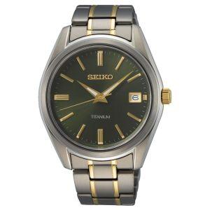 Seiko Quartz SUR377P1 horloge