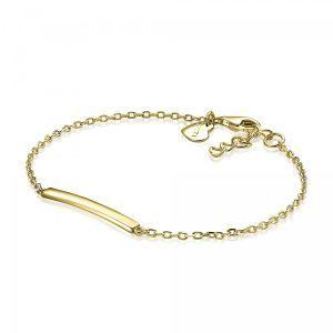 ZINZI zilveren armband goud verguld ZIA1308G (Lengte 17-19cm)