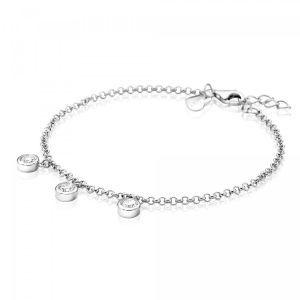 ZINZI zilveren armband ZIA1566 (Lengte 18-20cm)