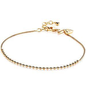 ZINZI zilveren armband goud verguld ZIA1657G (Lengte 16,5-19,5cm)