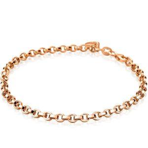 ZINZI zilveren armband goud verguld ZIA1702R (Lengte 18,5cm)