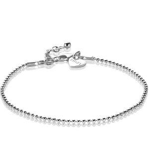 ZINZI zilveren bolletjes armband 1,5mm breed 17-19,5cm ZIA1909