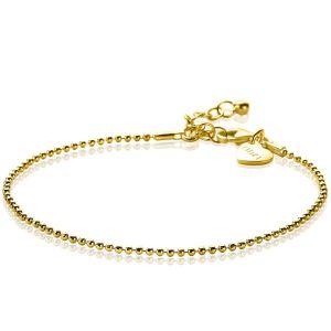 ZINZI zilveren armband goud verguld ZIA1909G (Lengte 17-19,5cm)