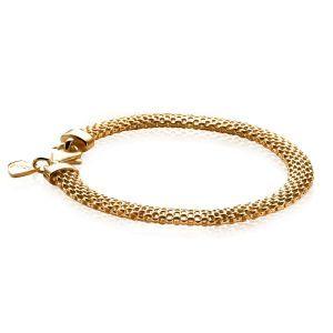 ZINZI zilveren armband goud verguld ZIA879G (Lengte 18,5cm)