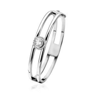 ZINZI zilveren bangle armband ZIA1244 (Diameter 60mm)