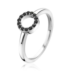 ZINZI ring ZIR1063Z - Zilver 925 - Zirkonia