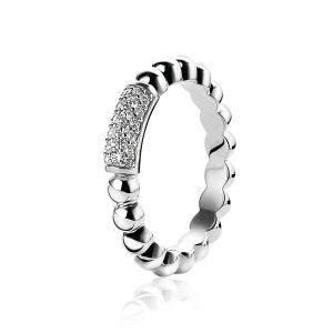 ZINZI ring ZIR1246 - Zilver 925 - Zirkonia
