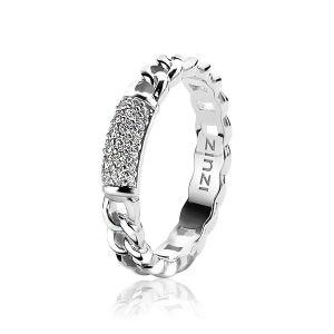 ZINZI ring ZIR1247 - Zilver 925 - Zirkonia