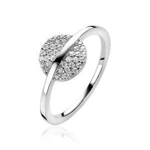 ZINZI ring ZIR1444 - Zilver 925 - Zirkonia