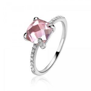 ZINZI ring ZIR1470R - Zilver 925 - Kristal