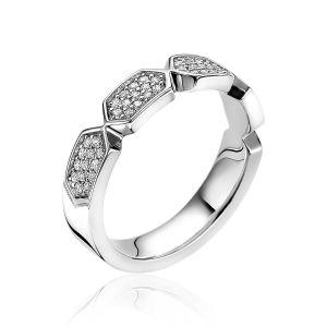 ZINZI ring ZIR1788 - Zilver 925 - Zirkonia