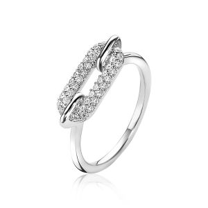 ZINZI ring ZIR1894 - Zilver 925 - Zirkonia