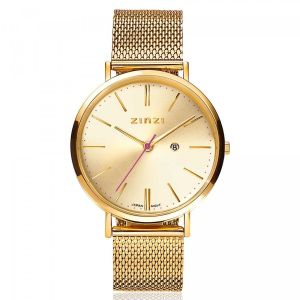 ZINZI horloge ZIW410M Retro + gratis armband t.w.v. €29,95