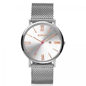 ZINZI horloge ZIW512M Roman + gratis armband t.w.v. €29,95