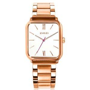 ZINZI Square Roman horloge 32mm ZIW808S + gratis armband t.w.v. €29,95