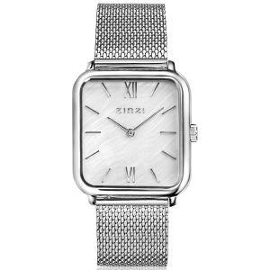 ZINZI Square Roman horloge 32mm ZIW821M + gratis armband t.w.v. €29,95