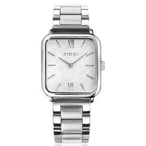 ZINZI Square Roman horloge 32mm ZIW821S + gratis armband t.w.v. €29,95